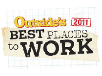 Outside Magazine's Best Places to Work 2011
