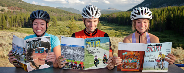 adventure cycling magazine
