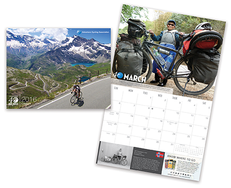 2014 Adventure Cycling Calendar