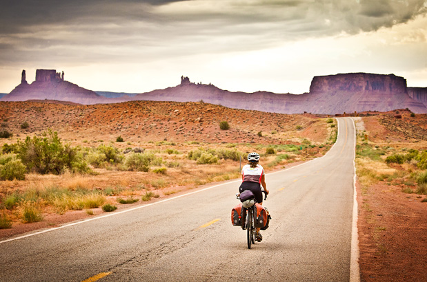 Bikes Routes In Western U.s. Western Express Adventure