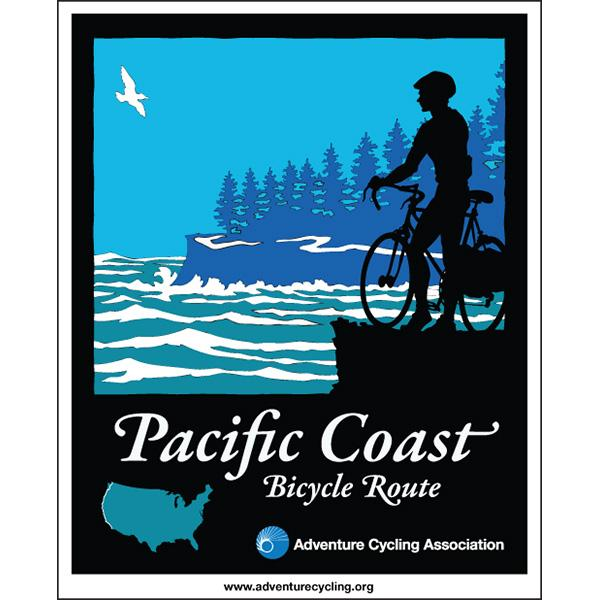 Bike Pacific Coast Pacific Coast Map Set