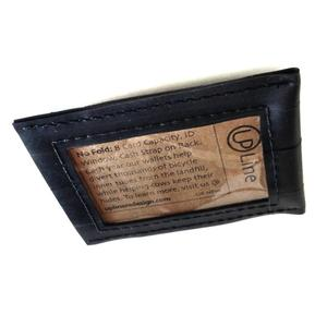 Upcycled Innertube Card Wallet