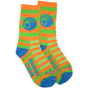 Adventure Cycling Association Hi-Vis Socks