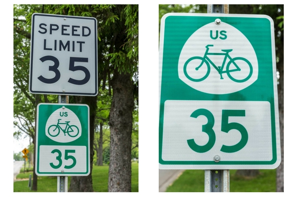 Us Bicycle Route 35 Tart Trails Inc - Us-bicycle-route-system-map