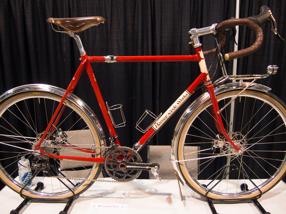 Light touring model from Harvey Cycle Works
