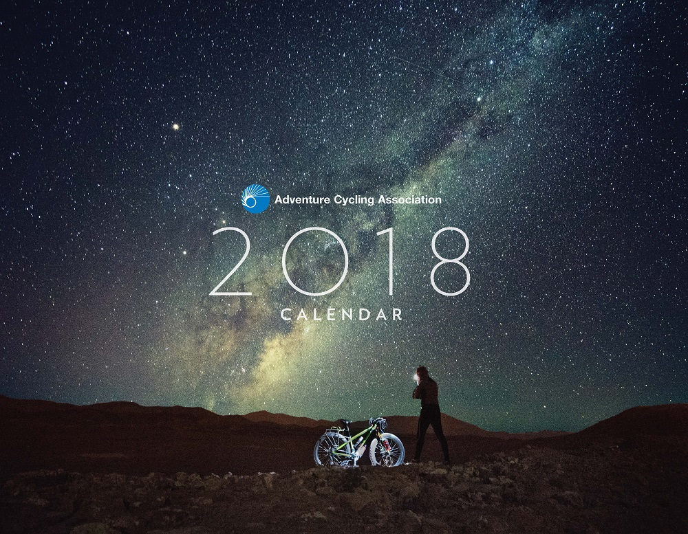 Calendar Cover 2018 : Hot off the press adventure cycling s bicycle