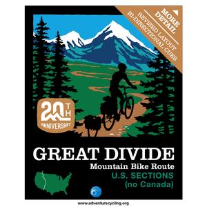 Great Divide Map Set - no Canada