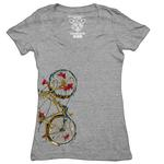 Clockwork Gears Cycling Fish T-shirt