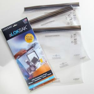 Loksak aLoksak Resealable Element-Proof Storage Bags