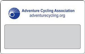 Adventure Cycling Association Magnifying Card