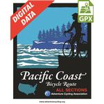 Pacific Coast Map Set Digital