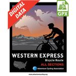 Western Express Map Set Digital