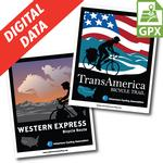 Western Express & Trans Am Map Set Digital