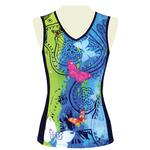 Floravelo Sleeveless Jersey Butterfly Bling