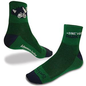 Adventure Cycling Association Bike Your Park Day Socks