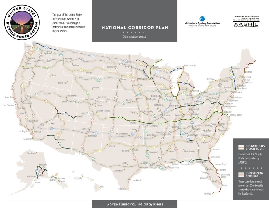 new u s bicycle route 41 in minnesota adds 315 miles midwest connections to national system