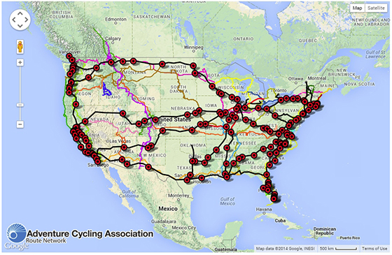 Amtrak Launches Rollon Bicycle Service On The Vermonter May St - Amtrak map usa