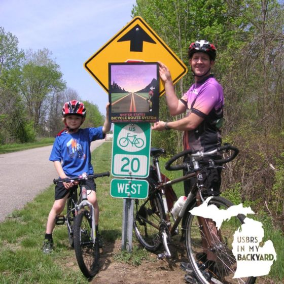 Growing the network major milestones adventure cycling association their us bicycle routes that is great news for everyone signs help cyclists navigate improve safety for cyclists and give the network an identity sciox Image collections