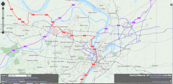 Use Your Phone To Navigate The US Bike Route System Adventure - Us bicycle route system map