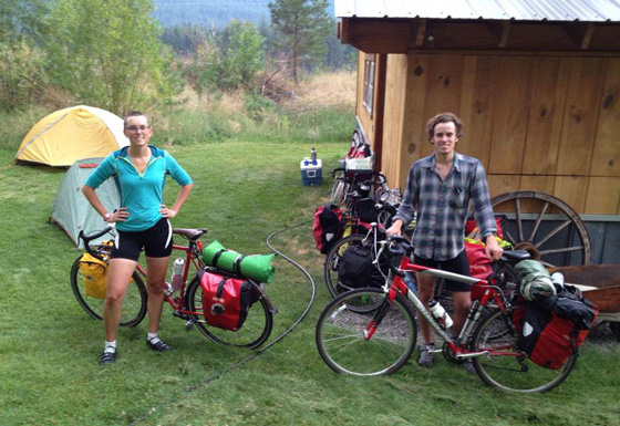 Photo at Barn Bicycle Camping