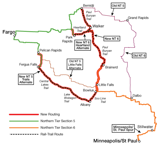 Adventure Cycling map image