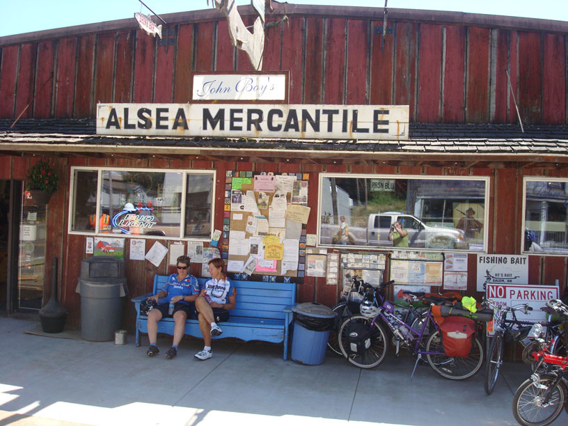The mercantile on our tour