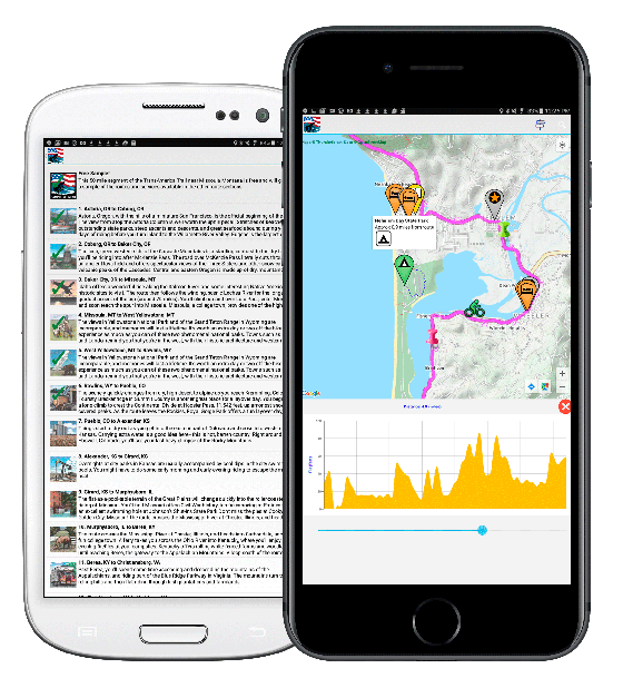 What Youve Been Waiting For Map Apps Adventure Cycling - Elevation finder app