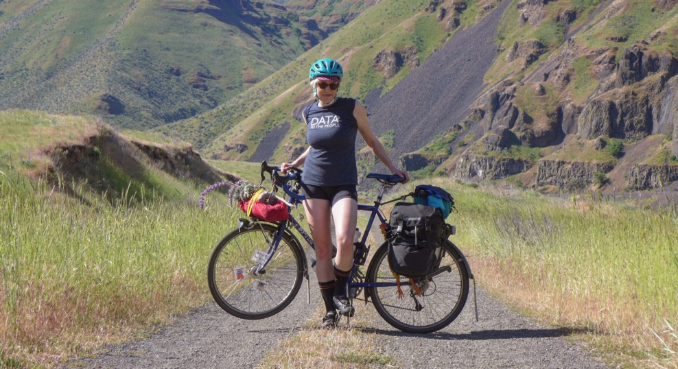 Gals Ride The Dalles Touring In The Great State Of
