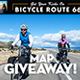 Bicycle Route 66, 2,493 Miles, & Map Giveaway