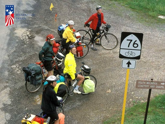 Riders on the Trans-America Trail. Photo by Kathy Versluys.