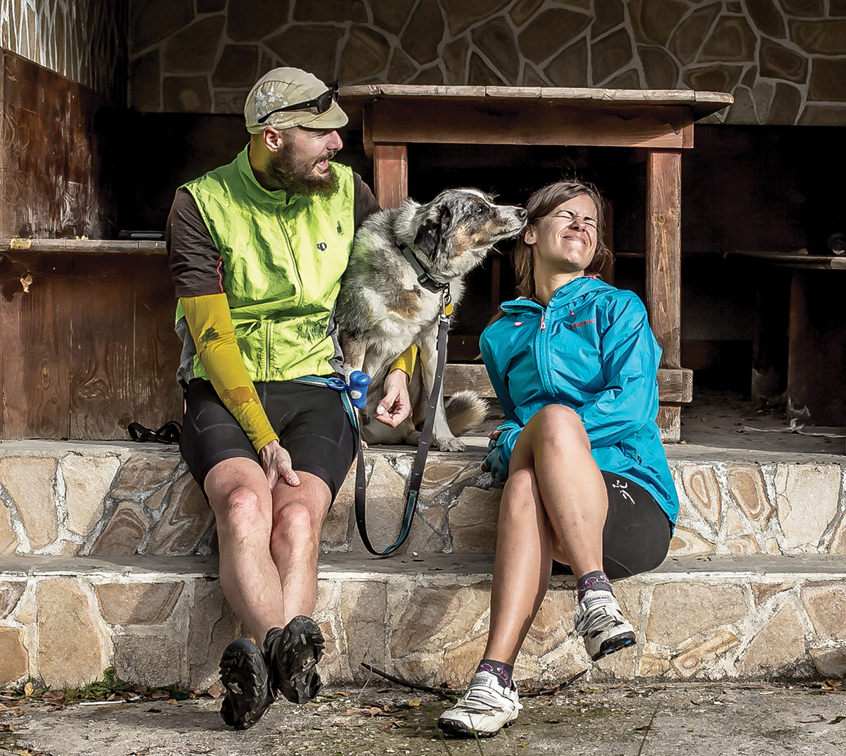 International bike touring with dogs