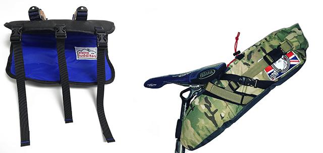 6e86de0d6352 Alpine Luddites Handlebar Drybag Carrier and Seat Bag V2