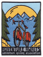 Adventure cycling patch
