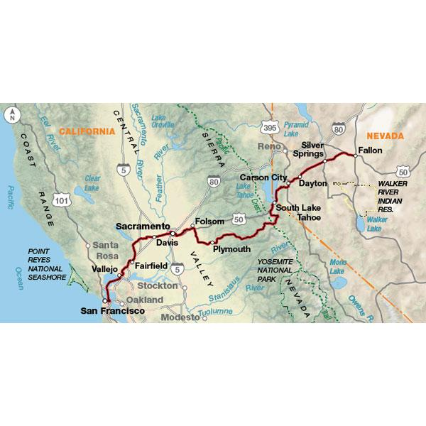 Adventure Cycling Association Western Express Route