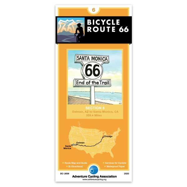 Map Of Oatman Arizona.Adventure Cycling Association Bicycle Route 66 Section 6 Route