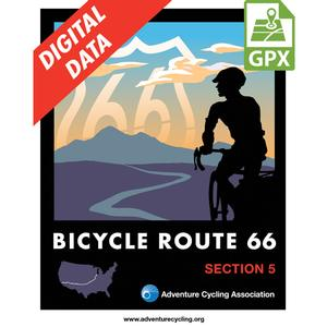 Bicycle Route 66 Section 5 GPX Data