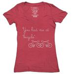 Clockwork Gears You Had Me at Bicycle T-shirt