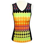 Floravelo Sleeveless Jersey Neon Flash