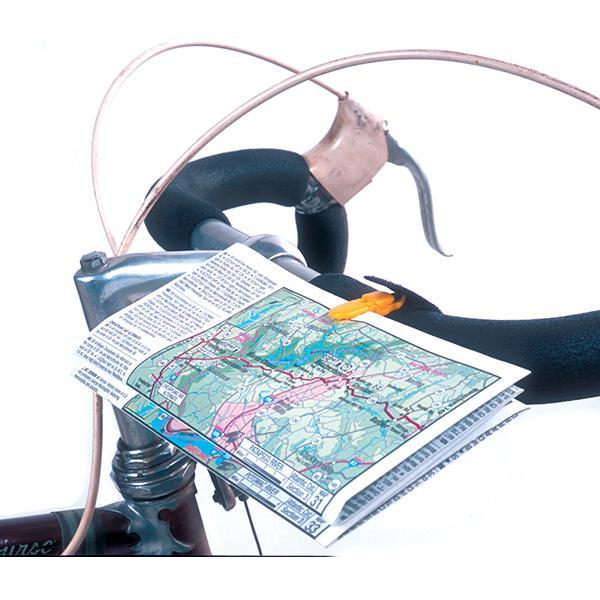 CueClip Map /& Cue Sheet Holder Black