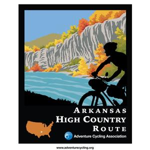 Arkansas High Country Route Map Set