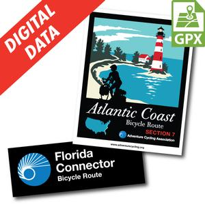 Florida Loop Map Set GPX Data