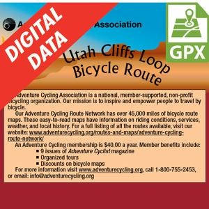 Utah Cliffs Loop GPX Data