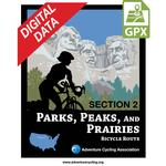 Parks, Peaks, and Prairies Section 2 GPX Data