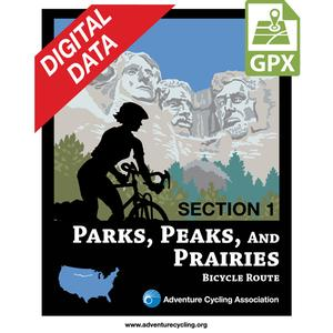 Parks, Peaks, and Prairies Map Set GPX Data
