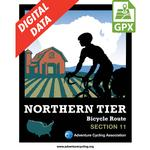 Northern Tier Section 11 GPX Data