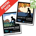 Northern Tier + North Lakes Map Set Digital