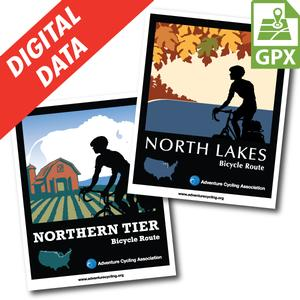 Northern Tier + North Lakes Map Set GPX Data