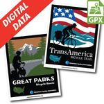 Great Parks Route Map Set GPX Data