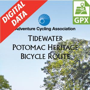 Tidewater Potomac Heritage Route GPX Data