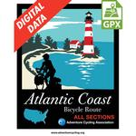Atlantic Coast Map Set GPX Data